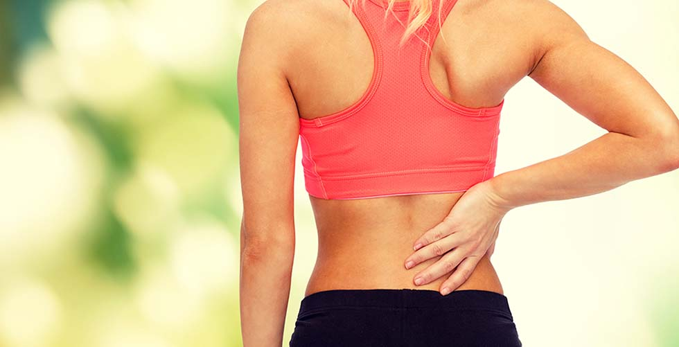 Top 5 exercises for back pain