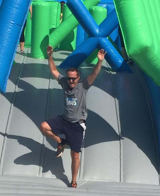 Champion of the Inflatable Theme Run