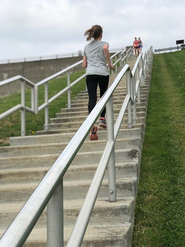 Running Stairs To Get In Shape