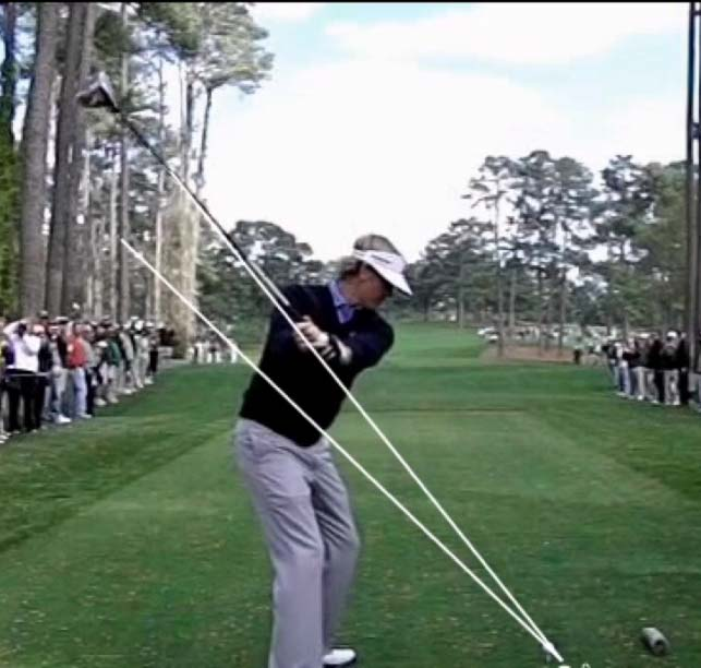 Perfectly on Plane Golf Swing