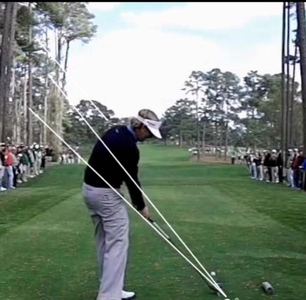 Perfect Shaft Plane at Impact
