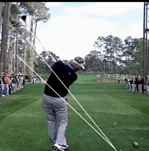 Follow Through is Mirror Image of Backswing